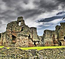 Rhuddlan Castle HDR by Dfilmuk Photos