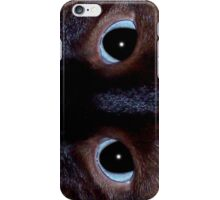 Siamese eyes iPhone Case/Skin