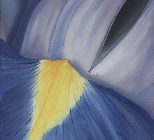 iris heart by cathy savels