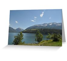 Lake Joseph in Oregon Greeting Card