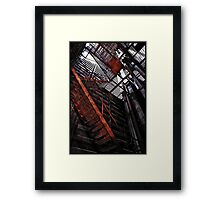 Facing my fear... Framed Print