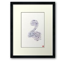 Is that a Dinosaur? Framed Print