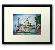 Dutch Sails Framed Print