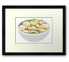 Potato Salad Framed Print