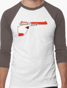 Trigger Discipline NES Zapper Men's Baseball ¾ T-Shirt