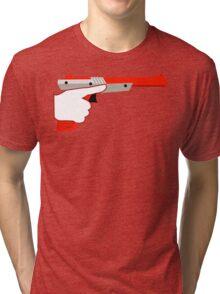 Trigger Discipline NES Zapper Tri-blend T-Shirt