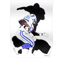 Barry Sanders [Reaction}... Poster