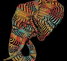Elephant (Majestic) by Norman Duenas