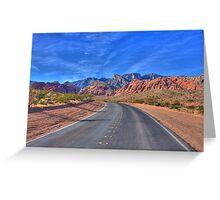 Red Rock Las Vegas Greeting Card