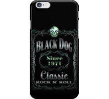 BLACK DOG LABEL - REEL STEEL iPhone Case/Skin