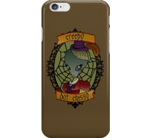 Creepy But Classy Alien (lady) iPhone Case/Skin