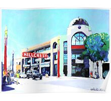 Hillcrest San Diego by RD Riccoboni Poster