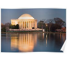 Jefferson Memorial, Washington D.C. Poster