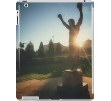 Rocky Statue iPad Case/Skin