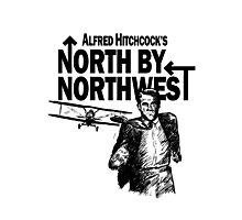 Alfred Hitchcock's North by Northwest by Burro! Photographic Print