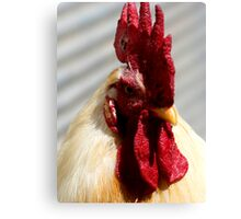 One Badass Mother Clucker Canvas Print