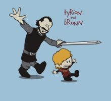 Tyrion and Bronn- Game of Thrones Shirt by spacemonkeydr