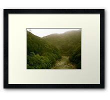 On the Way to Sonobe Framed Print