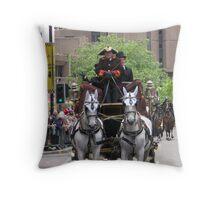 Lord Mayor's Parade Throw Pillow