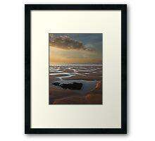 Tides out Framed Print