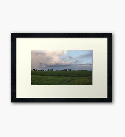 Spring Storm Cloud Framed Print