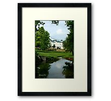Kentucky Horse Park ~ Barn Framed Print