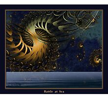 Battle at Sea Photographic Print