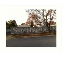 Echuca Sunshine  Art Print