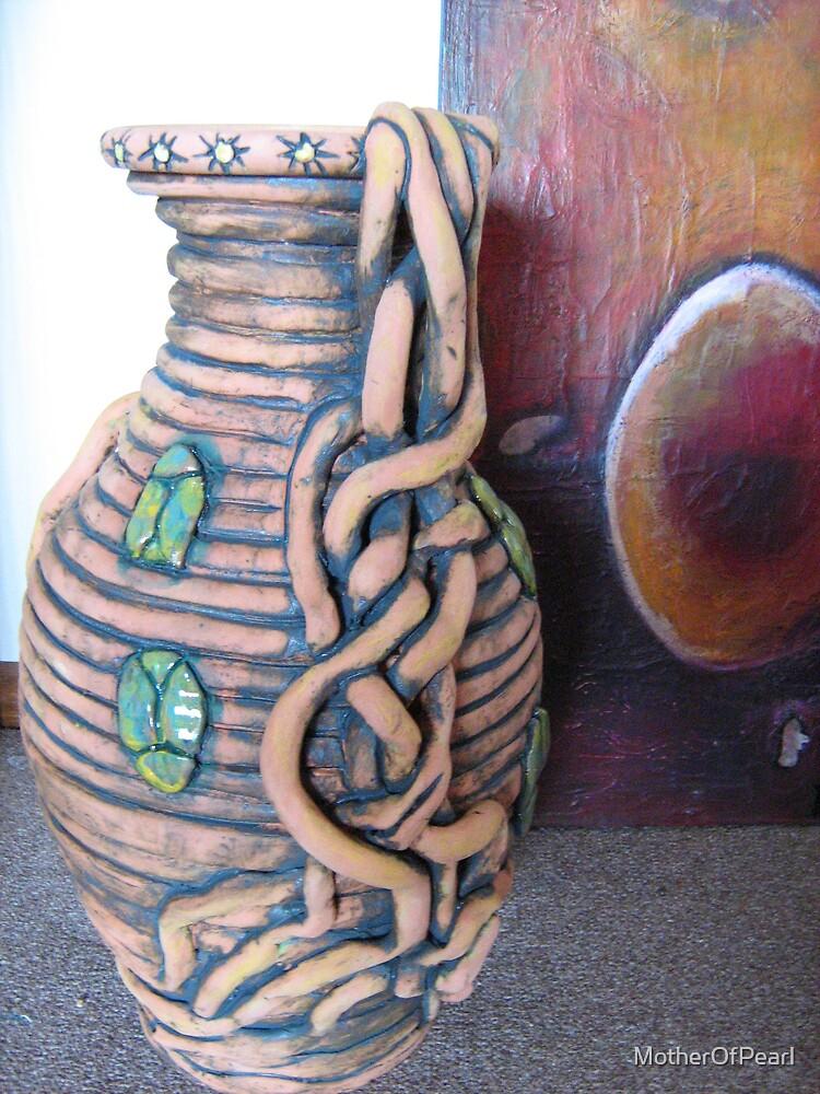 The Scarab Pot by MotherOfPearl