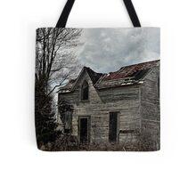 Eerie Abode Tote Bag