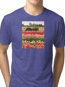 Deere in the Field Tri-blend T-Shirt