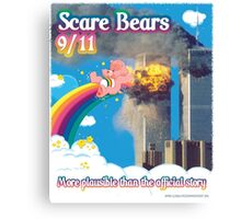 Scare Bears 9/11 Canvas Print