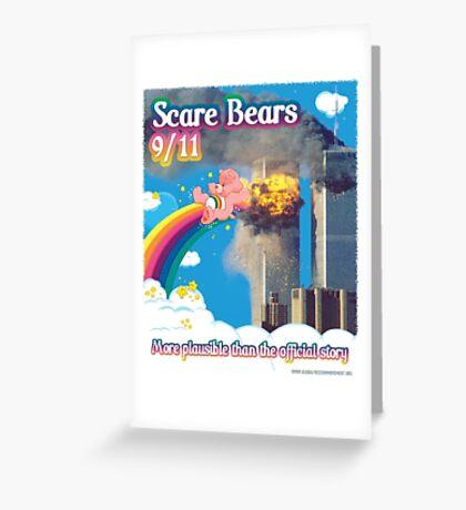 Scare Bears 9/11 Greeting Card