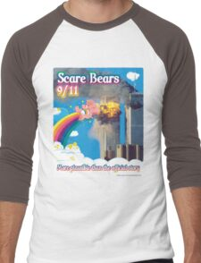 Scare Bears 9/11 Men's Baseball ¾ T-Shirt