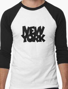 New York Men's Baseball ¾ T-Shirt