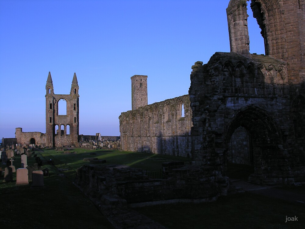 st andrews cathedral by joak