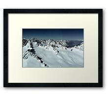 In the Hall of the Mountain King- Top of the World Framed Print