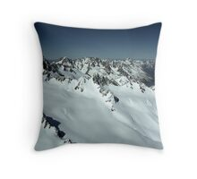 In the Hall of the Mountain King- Top of the World Throw Pillow