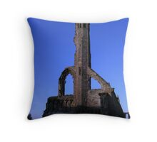 east end of st andrews cathedral Throw Pillow
