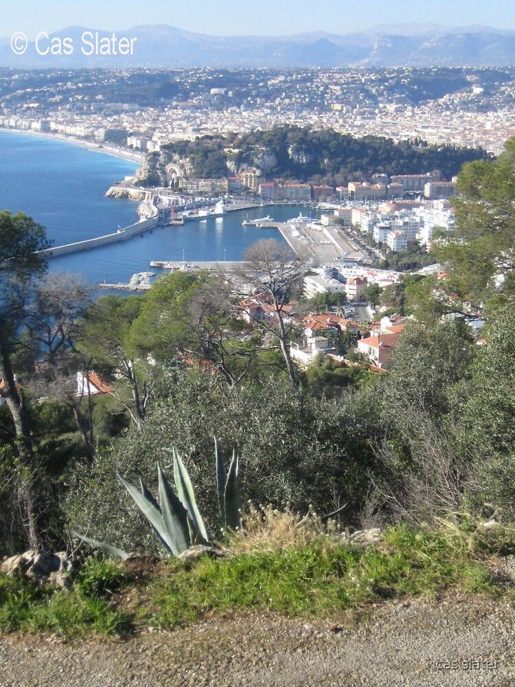 view over Nice by cas slater