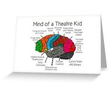 Mind Of a Theater Kid Greeting Card