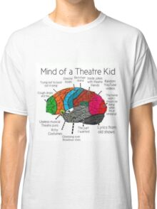 Mind Of a Theater Kid Classic T-Shirt