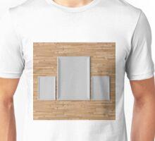 empty frame, art concept Unisex T-Shirt