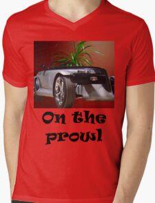 T- On The Prowl Mens V-Neck T-Shirt