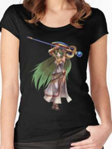 Palutena Women's Fitted Scoop T-Shirt