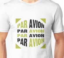 Par Avion Mail Art Unisex T-Shirt