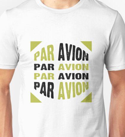 Par Avion Mail Art Unisex T-Shirt
