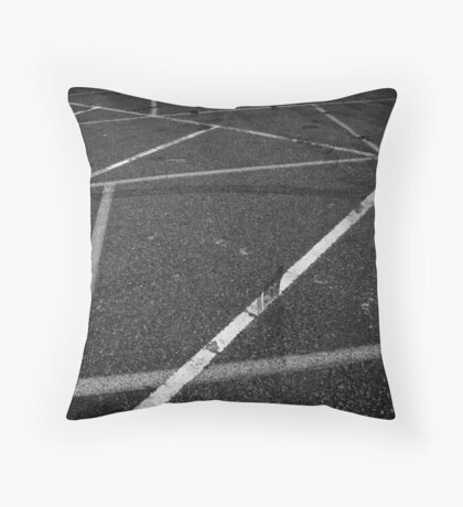 Cryptic messages Throw Pillow