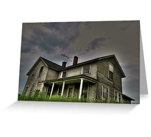 The Abandoned Collection: Haunted Series 2 of  3 Greeting Card