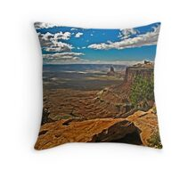 The Candlestick Throw Pillow